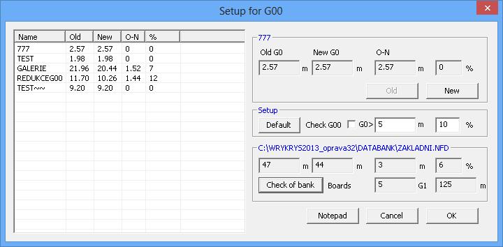 Kontrola G00